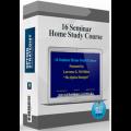 16 Seminar Home Study Course (Option Strategist)