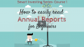 Divesh Nair – Analyzing Annual Reports for Beginners